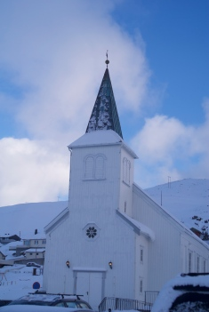 The church in Honningsvåg